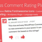 Wordpress Comment Rating Plugin With Like & Unlike Feature