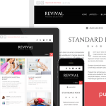 Revival Wordpress theme 2014