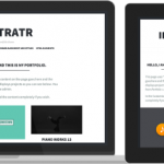 Illustratr Portfolio Free Wordpress Responsive Theme 2014