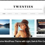 twenties wordpress theme download