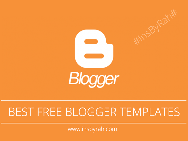 Best Blogger Responsive Templates