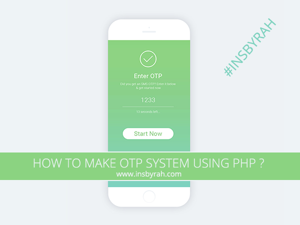 How to Make OTP System in Php