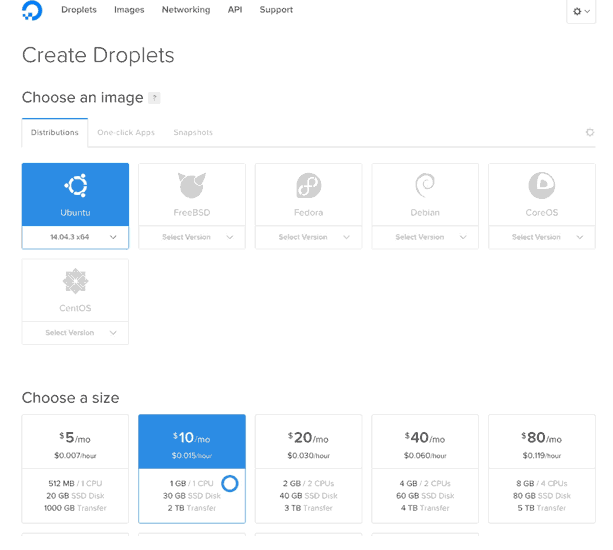 How to Create Digital Ocean Droplet