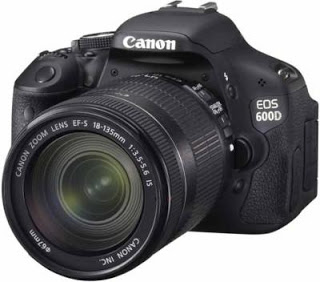 Cannon EOS 600 D - Best camera under 50000 Rupees