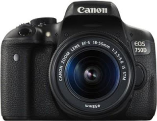 Cannon EOS 750D - Best camera under 50000 Rupees