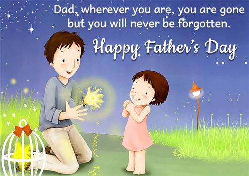 Happy Father day Animated WhatsApp DP